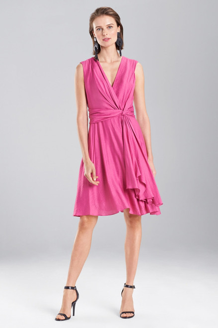 Buy Josie Natori Cotton Like Sleeveless Knotted Dress from