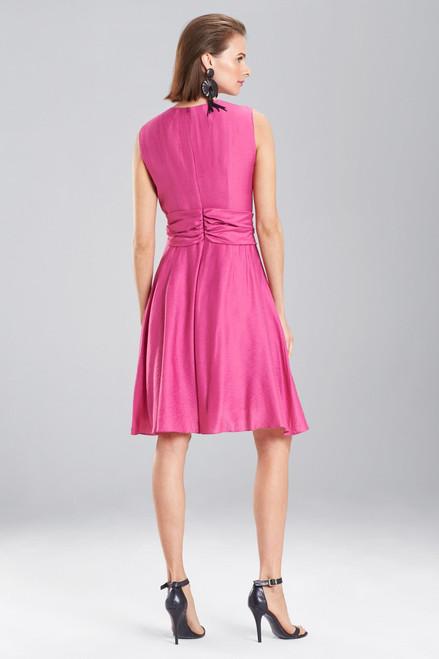 Josie Natori Cotton Like Sleeveless Knotted Dress at The Natori Company
