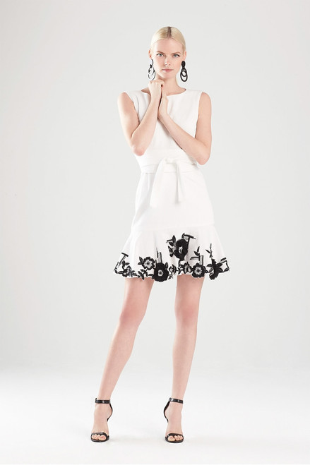 Denim Embroidered Dress at The Natori Company