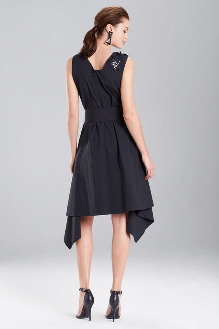 Josie Natori Cotton Poplin Asymmetrical Dress at The Natori Company