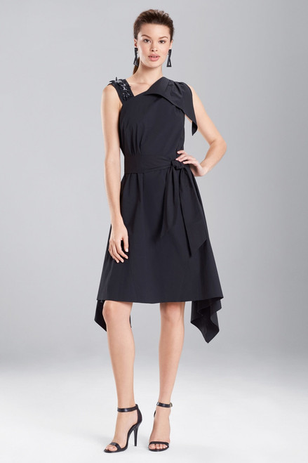 Buy Josie Natori Cotton Poplin Asymmetrical Dress from
