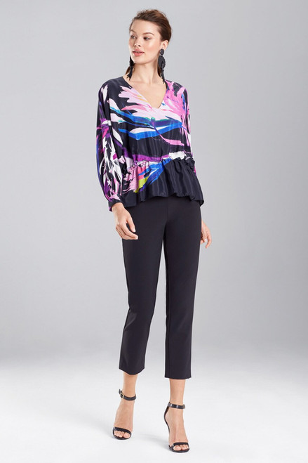 Buy Josie Natori Prism Poet Sleeve Top from