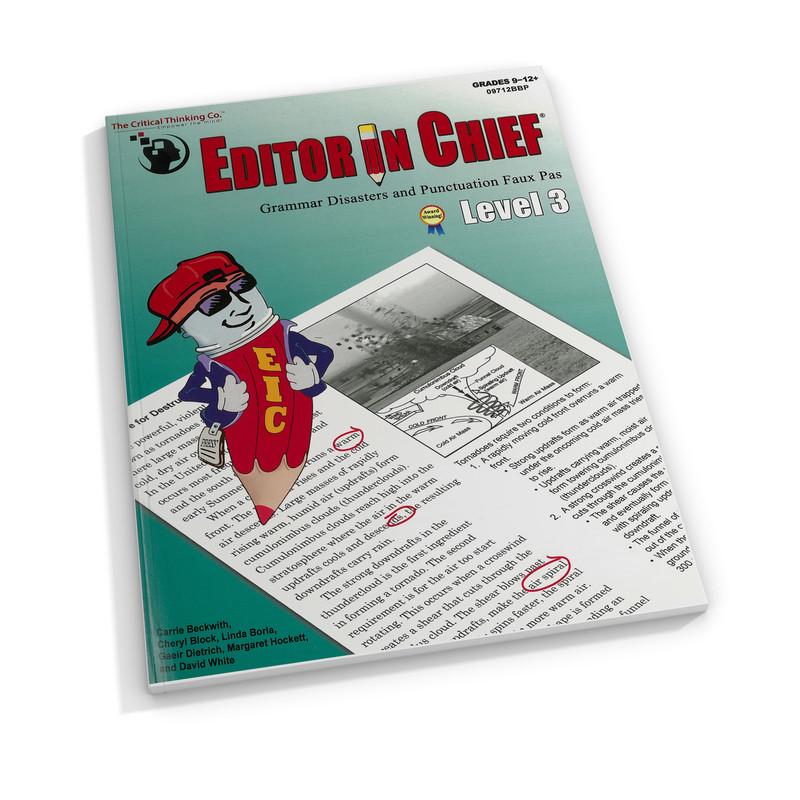 Editor in Chief Level 3