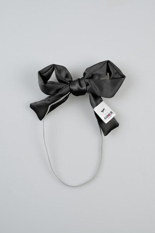 Signature Infant Present Bow Black