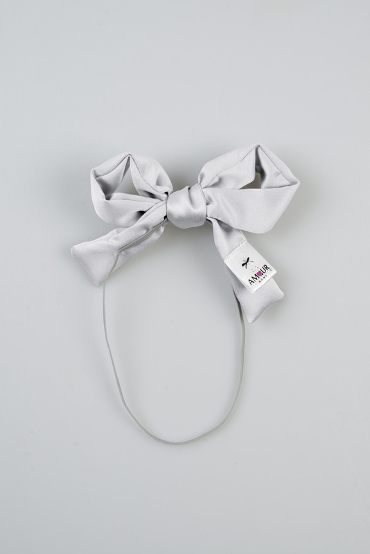 Signature Infant Present Bow Silver