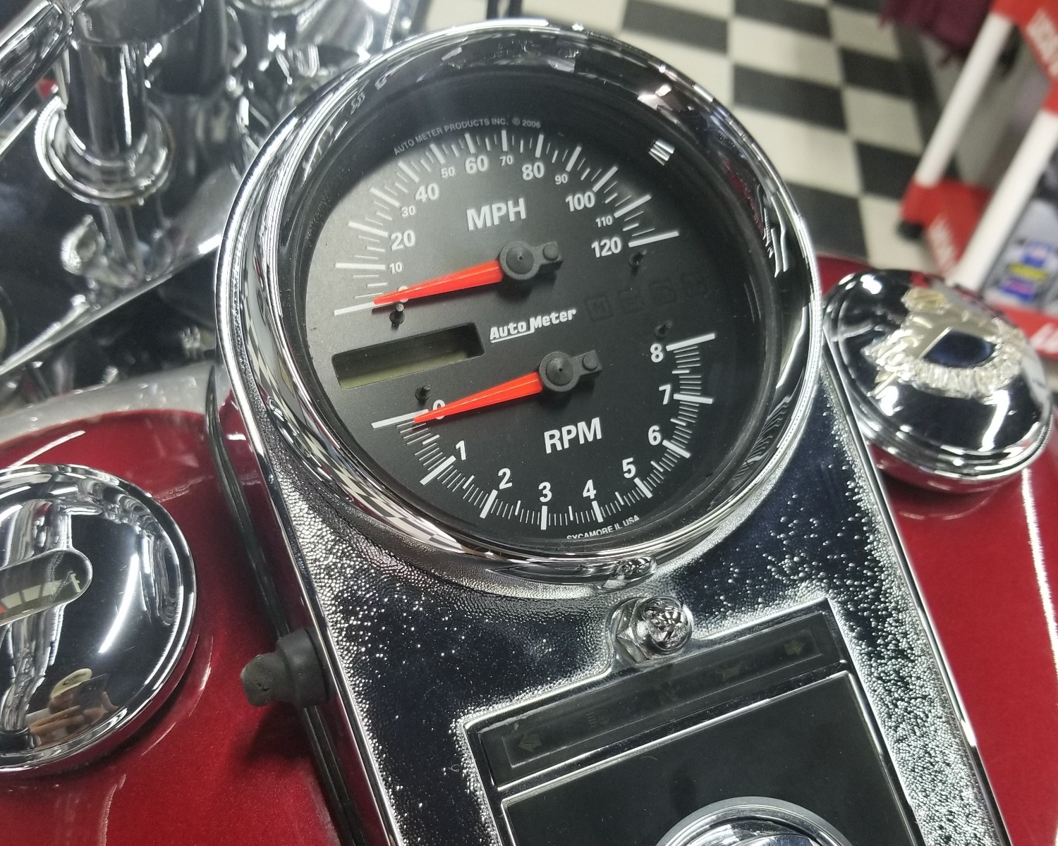 Auto Meter Direct Fit Tach Speedo19466 Dissident Custom Harley Davidson 95 Dyna Wiring Diagram