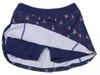 Turtles & Tees Junior Girls Christina Tennis Skort with Back Pleats - I Sea the Tee