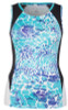 SALE Tail Ladies & Plus Size Theresa Tennis Tank Tops - Glistening Tide (Low Tide Curacao)