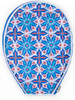 Cinda B Tennis Racquet Cover - Royal Bonita