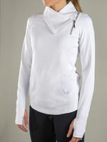 JoFit Ladies & Plus Size Jumper Tennis Jackets - Cosmopolitan/Lanai (White)