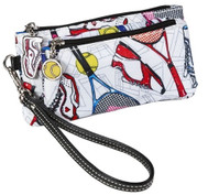Sydney Love Ladies Tennis Double Zip Wristlet – Tennis Everyone
