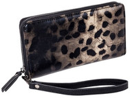 SALE Sydney Love Ladies Zip Around Wallet - Leopard