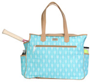 SALE Ame & Lulu Ladies Tennis Court Bags - Lagoon