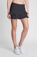 "Tail Ladies Doubles 13.5"" Flounce Tennis Skorts - ESSENTIALS (Iron)"