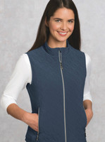 Bolle Ladies Quilted Tennis Vests - Assorted Colors