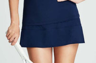 Tail Ladies Tamara Pull-on Tennis Skorts - Navy Regatta (Navy Blue)
