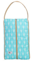 Ame & Lulu Ladies Signature Shoe Bags - Lagoon