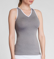 Tail Ladies Julene Sleeveless Tennis Tank Tops - ESSENTIALS (Frosted Heather)