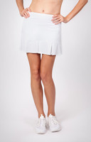 Tail Ladies Doral Pleated Tennis Skorts - ESSENTIALS (White)