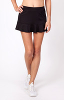 "Tail Ladies Jennifer 12.5"" Flounce Tennis Skorts - ESSENTIALS (Black)"