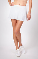 "Tail Ladies Jennifer 12.5"" Flounce Tennis Skorts - ESSENTIALS (White)"
