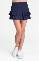 "Tail Ladies Doubles 13.5"" Flounce Tennis Skorts - ESSENTIALS (Navy Blue)"