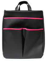40 Love Courture Ladies Sophi Tennis Tote Bags - Black Faux