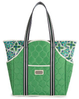 Cinda B Ladies Tennis Court Bags - Verde Bonita