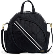 Cinda B Ladies Tennis Tote Bags - Jet Set Black