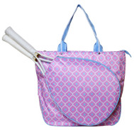 SPECIAL All For Color Ladies Tennis Tote Bags - Good Catch (Pink & Blue)