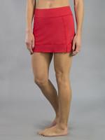 SALE JoFit Ladies & Plus Size Pearl Tennis Skorts - Barossa (Lipstick)