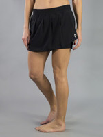 JoFit Ladies & Plus Size Cascade Tennis Skorts - Barossa (Black)