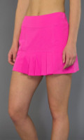 SALE JoFit Ladies Dash Pleated Tennis Skorts (Short) - Napa (Fluorescent Pink)