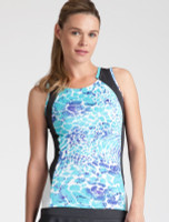 CLEARANCE Tail Ladies & Plus Size Theresa Tennis Tank Tops - Glistening Tide (Low Tide Curacao)