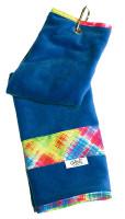 Glove It Ladies Tennis Towels - Electric Plaid