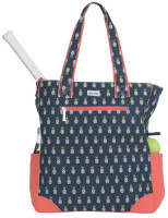 Ame & Lulu Ladies Emerson Tennis Tote Bags - Pineapple