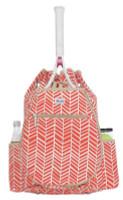 Ame & Lulu Ladies Kingsley Tennis Backpacks - Tango