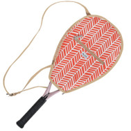 Ame & Lulu Ladies Riley Tennis Racquet Cover - Tango