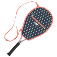 Ame & Lulu Ladies Riley Tennis Racquet Cover - Pineapple