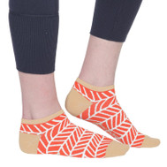 Ame & Lulu Ladies Meet You Match Socks - Tango