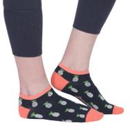 Ame & Lulu Ladies Meet You Match Socks - Pineapple