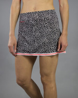 SALE JoFit Ladies & Plus Size Banded Swing Tennis Skorts (Short) - Daiquiri (Ink Spot)