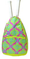 All For Color Ladies Tennis Backpacks - Ready Set Glow (Pink & Lime)