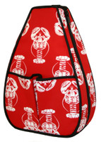 40 Love Courture Ladies Sophi Tennis Backpacks - Lobster