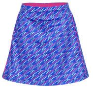 Turtles & Tees Junior Girls Tara Knit Pull On Tennis Skorts - Dots In One Print