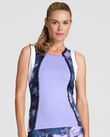 SALE Tail Ladies & Plus Size Sienna Sleeveless Tennis Tank Tops - Stargaze (Lavender)