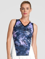 SALE Tail Ladies & Plus Size Tyler Sleeveless Tennis Tank Tops - Stargaze (Galaxy)