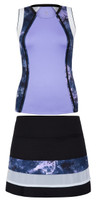SALE Tail Ladies & Plus Size Tennis Outfits (Tank Tops & Skorts) - Stargaze (Sienna/Krishna)
