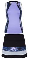 SALE Tail Ladies & Plus Size Tennis Outfits (Tank Tops & Skorts) - Stargaze (Sienna/Krishna)