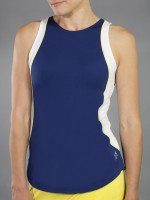 SALE JoFit Ladies Ace Tennis Tank Tops - Limoncello (Blue Depth)